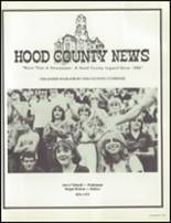 1981 Granbury High School Yearbook Page 164 & 165