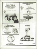 1981 Granbury High School Yearbook Page 192 & 193