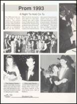 1993 Clyde High School Yearbook Page 156 & 157
