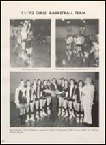 1972 Clyde High School Yearbook Page 44 & 45