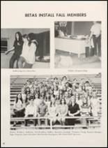 1972 Clyde High School Yearbook Page 54 & 55