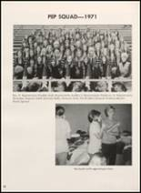 1972 Clyde High School Yearbook Page 56 & 57