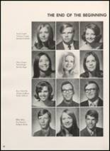 1972 Clyde High School Yearbook Page 72 & 73