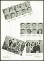 1960 Ft. Leboeuf High School Yearbook Page 50 & 51