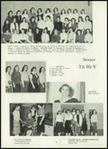 1960 Ft. Leboeuf High School Yearbook Page 86 & 87