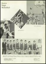 1960 Ft. Leboeuf High School Yearbook Page 110 & 111