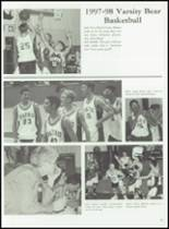 1998 Baird High School Yearbook Page 50 & 51