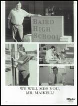 1998 Baird High School Yearbook Page 144 & 145