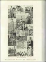1936 Kentucky Military Institute Yearbook Page 48 & 49