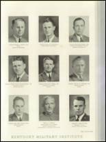 1936 Kentucky Military Institute Yearbook Page 78 & 79