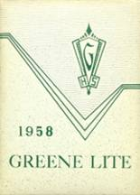1958 Yearbook Central High School