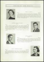 1937 Hope High School Yearbook Page 22 & 23