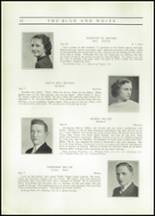 1937 Hope High School Yearbook Page 34 & 35