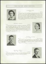 1937 Hope High School Yearbook Page 40 & 41