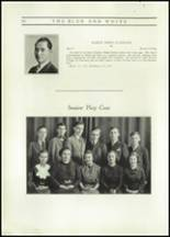 1937 Hope High School Yearbook Page 52 & 53