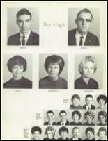 1963 Lee Edwards High School Yearbook Page 14 & 15