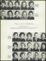 1963 Lee Edwards High School Yearbook Page 16 & 17