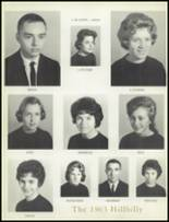 1963 Lee Edwards High School Yearbook Page 18 & 19
