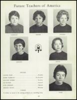 1963 Lee Edwards High School Yearbook Page 110 & 111