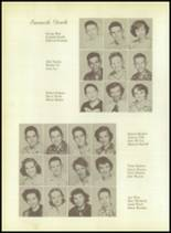1955 Whitehouse High School Yearbook Page 36 & 37