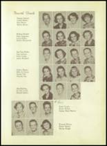 1955 Whitehouse High School Yearbook Page 38 & 39