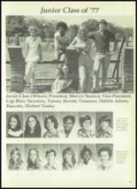 1977 Madisonville High School Yearbook Page 42 & 43