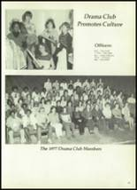 1977 Madisonville High School Yearbook Page 70 & 71