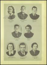 1939 Wink High School Yearbook Page 16 & 17