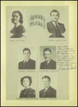 1939 Wink High School Yearbook Page 20 & 21