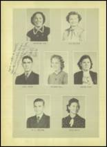 1939 Wink High School Yearbook Page 22 & 23