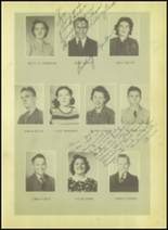 1939 Wink High School Yearbook Page 34 & 35