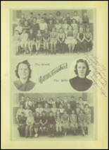1939 Wink High School Yearbook Page 54 & 55