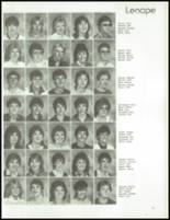 1985 Kittanning High School Yearbook Page 54 & 55