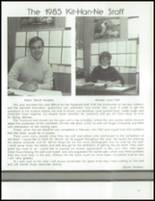 1985 Kittanning High School Yearbook Page 182 & 183