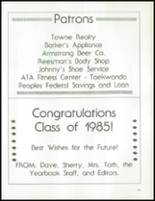 1985 Kittanning High School Yearbook Page 206 & 207