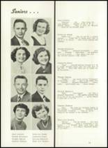 1950 Jenner-Boswell Joint High School Yearbook Page 18 & 19