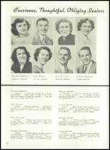 1950 Jenner-Boswell Joint High School Yearbook Page 24 & 25