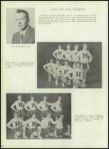 1959 Hereford High School Yearbook Page 42 & 43