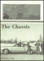 1973 Gilman City High School Yearbook Page 16 & 17