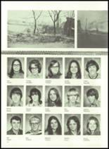 1973 Gilman City High School Yearbook Page 42 & 43