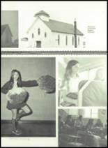 1973 Gilman City High School Yearbook Page 44 & 45