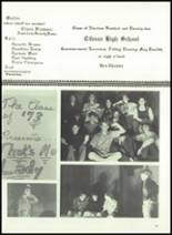 1973 Gilman City High School Yearbook Page 72 & 73
