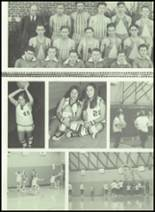 1973 Gilman City High School Yearbook Page 110 & 111