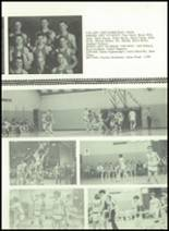 1973 Gilman City High School Yearbook Page 112 & 113