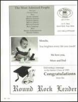 1993 Round Rock High School Yearbook Page 266 & 267
