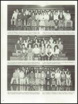 1981 Lyman Hall High School Yearbook Page 84 & 85