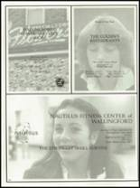 1981 Lyman Hall High School Yearbook Page 192 & 193