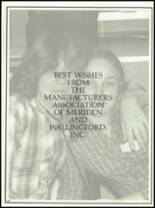 1981 Lyman Hall High School Yearbook Page 204 & 205