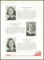 1940 Mt. St. Joseph Academy Yearbook Page 28 & 29