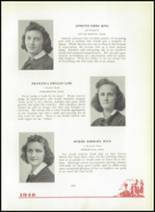 1940 Mt. St. Joseph Academy Yearbook Page 36 & 37